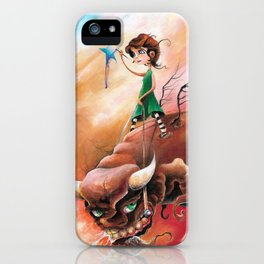 Peace That Conquered Beast iPhone Case