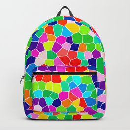 Rainbow Stained Glass Backpack