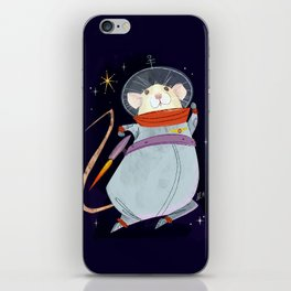 Astronaut Marty Mouse in Space iPhone Skin