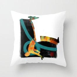 Capoeira 531 Throw Pillow