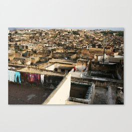 Lost in the Medina Canvas Print