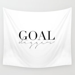 GOAL DIGGER SIGN,Gift For Boss,Like A Boss,Success Quote,Business Women Gift,Printable Art,Modern Ar Wall Tapestry