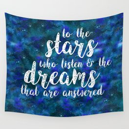 Dreams That Are Answered Wall Tapestry