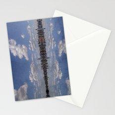 Linear Sky Stationery Cards
