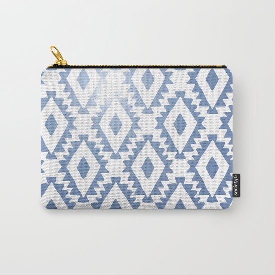 Aztec geometrics - chambray Carry-All Pouch