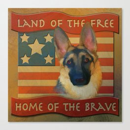 Home of the Brave Canvas Print