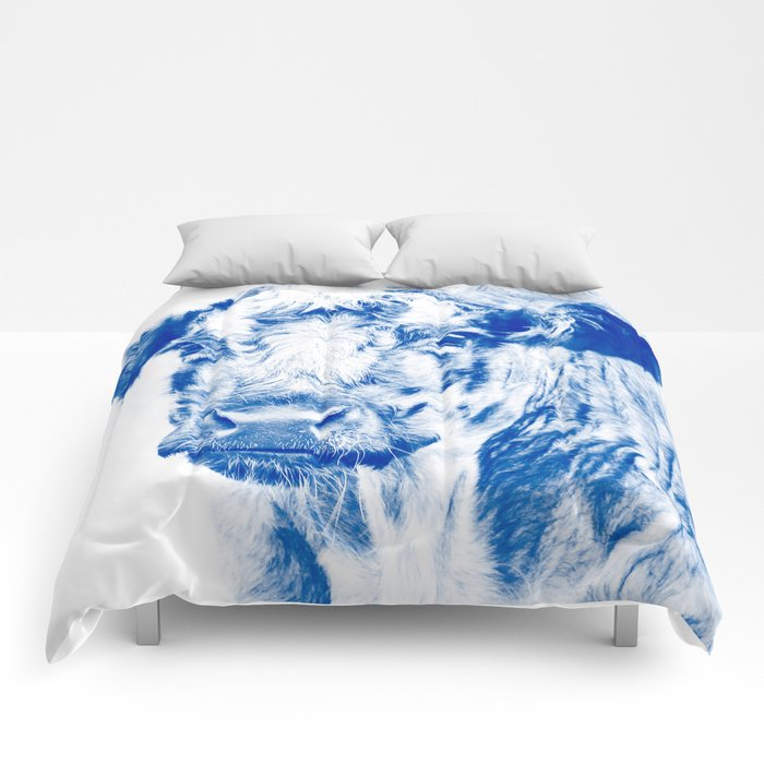 Ardnamuchan Coo - Blue Comforters