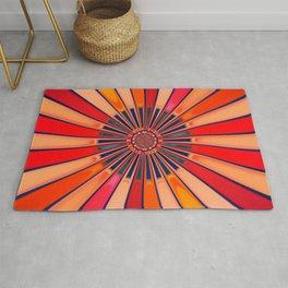Abstract Circle Rug