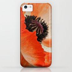 Poppy iPhone 5c Slim Case