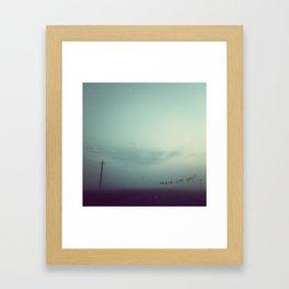 where are you Framed Art Print