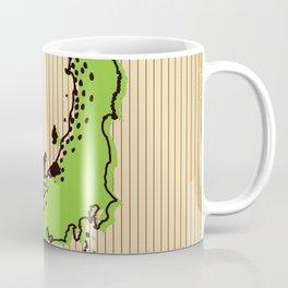 Vintage style Map of Japan Coffee Mug