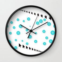 Click Through Wall Clock