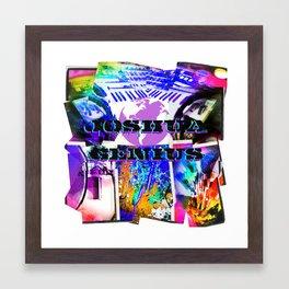 joshua Genius Framed Art Print
