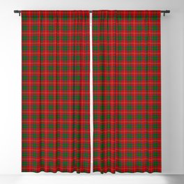 Chisholm Tartan Plaid Blackout Curtain