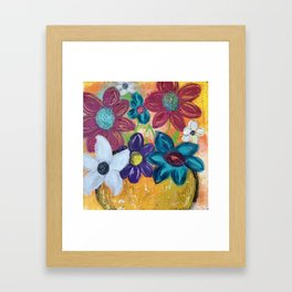 ON DISPLAY Framed Art Print