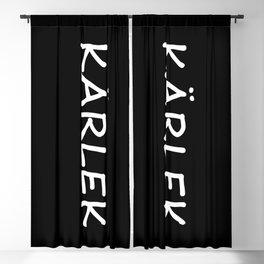 Kärlek, Swedish Love Blackout Curtain