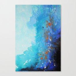 Blue Suede Blues Canvas Print