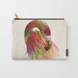 birds flamingo  Carry-All Pouch