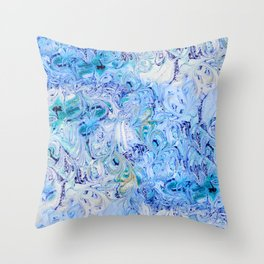 Marble Sky Throw Pillow