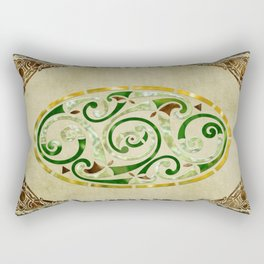 Celtic Old Traditional Tapestry Rectangular Pillow