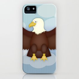 Horatio the Eagle iPhone Case