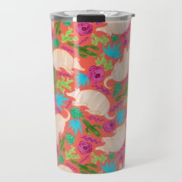 Warm Wishes Armadillos and Desert Florals Travel Mug