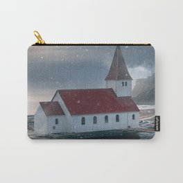 Floating Building in Vik Iceland Carry-All Pouch