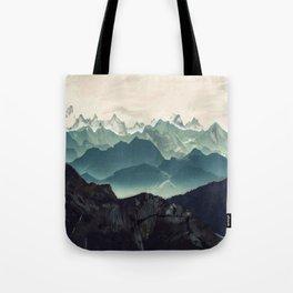 Shades of Mountain Tote Bag