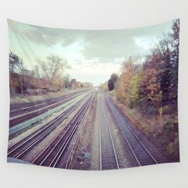 Mystery train. Wall Tapestry