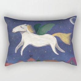 Night Pegasus Rectangular Pillow