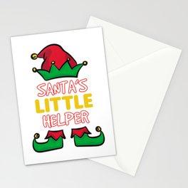 SANTA'S LITTLE HELPER Stationery Cards
