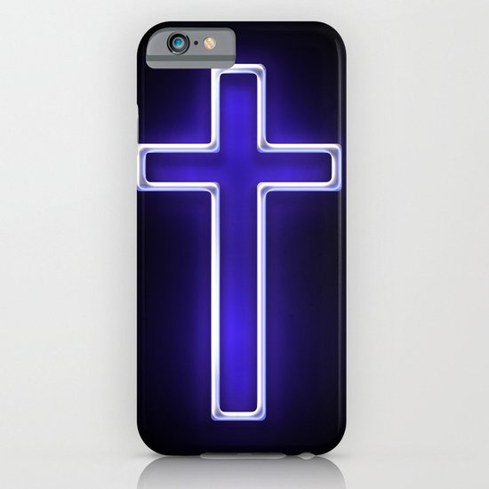 Metallic Cross iPhone & iPod Case