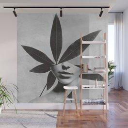 collage art / calmness  2 Wall Mural