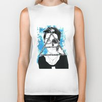 jared leto Biker Tanks featuring jared triangle leto by anxiety