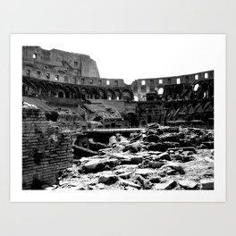 Life in Ruins Art Print