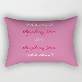 Brie and Jam Rectangular Pillow
