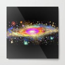 Milky Way Galaxy Metal Print