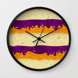 PBJ Wall Clock