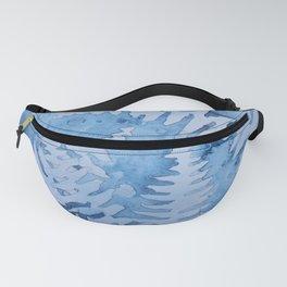 Blue ferns Fanny Pack