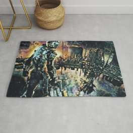 Dead Space Defensive Isaac Artistic Illustration Space Style Rug