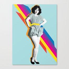 Clara in Color Canvas Print