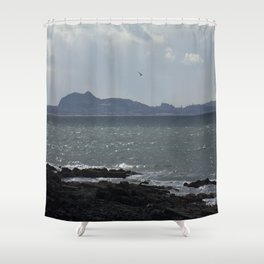 Arthur's Seat in the Distance Shower Curtain