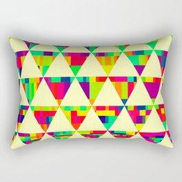 Aztechs III Traingles Rectangular Pillow