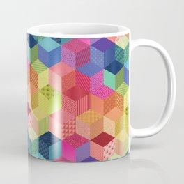 RAINBOW GEO PATTERN Coffee Mug
