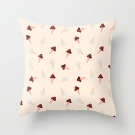 Ice cream Pattern(2) Throw Pillow
