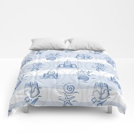 Sandcastle Nautical - Pattern Comforters