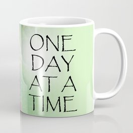 One Day at a Time Sweet Peas Coffee Mug