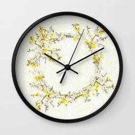 Natsukashii - for Spring Wall Clock