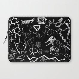 """Rinconada Canyon Petroglyphs"" Laptop Sleeve"