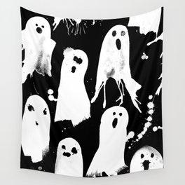 Ghost Splats Wall Tapestry